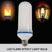 led flame effect light bulb AC85 265V LED bulb E27 led flame bulb SMD2835 AC85 265V fire dynamic light simulation