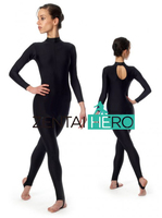 Free Shipping Sexy Black Tight Dance Wear Catsuit Lycra Spandex Leotard Fetish Bodysuit Jumpsuit For Lady/Girl 15111337