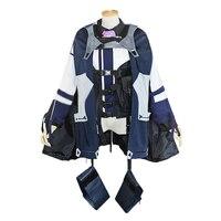 Для девочек Frontline непослушание команды AK12 карнавальный костюм на Хеллоуин Рождественский костюм с аксессуаром