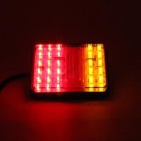 30 LED Truck Trailer Stop Rear Tail Indicator Light Lamp For Truck Bus Van For Free