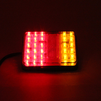 30 LED Truck Trailer Stop Rear Tail Indicator Light Lamp For Truck Bus Van For Free