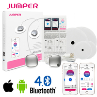 Wireless Electronic Pulse Stimulator, Bluetooth Phone APP controlled TENS Therapy Device, mini EMS Body Muscle Slimming Massager