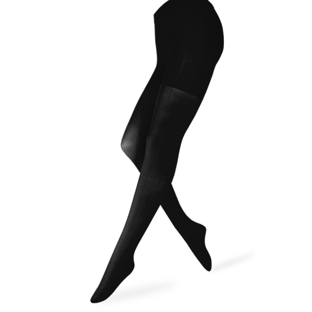 Image 2 - 20 30mmHg Medical Varicose Veins Stockings Pantyhose Firm Waist High Support Compression Tights Anti Fatigue Travel Flight Edema-in Tights from Underwear & Sleepwears