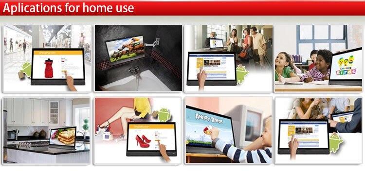 multi-touch tudo em um painel pc