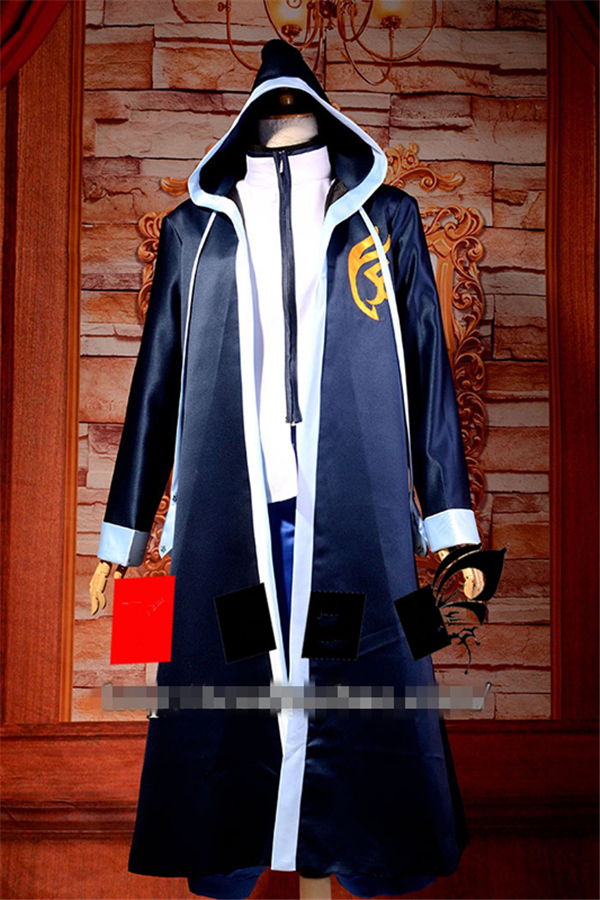 Anime FAIRY TAIL Jellal Fernandes Cosplay Costume Coat+Shirt+ Trousers+Free Shipping G цены онлайн