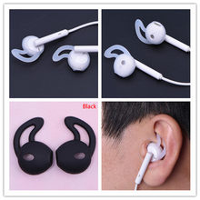 Silicone Cover Earbuds Earphone Case for iphone Airpod Bluetooth Wireless Earpods Headphone Eartip Ear Wings Hook Cap Earhook(China)