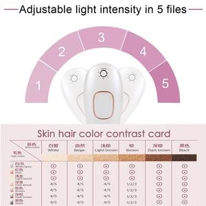Image 3 - Remoção permanente do cabelo do ipl a laser depilador dispositivo depilador facial removedor de cabelo para mulher homem axila pernas biquíni