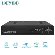 1080N 16CH AHD DVR For 720P 960P 1080P AHD CCTV Camera 16 Channel ONVIF IP NVR Network Surveillance digital video Recorder