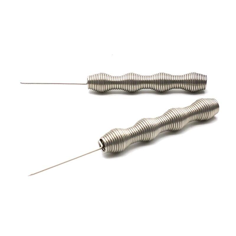 Frühling Stil Shisha Wasserpfeife Folie Poker Locher Nadel Werkzeug Für Wasserpfeifen Shisha Chicha Narguile aluminiumfolie Zubehör