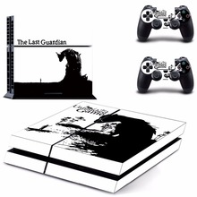New The Last Guardian Decal PS4 Skin Sticker For Sony Playstation 4 PS4 Console +2Pcs Controller protective skin