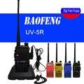 Caliente Portable de Radio Baofeng UV-5R uv5r radio de dos vías Walkie Talkie pofung 5 W vhf uhf de banda dual de dos vías de baofeng uv 5r comunicador