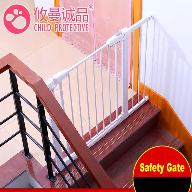 Multifunción Niños Producto de la Seguridad Del Bebé Puerta de Seguridad Puerta de uso en la Puerta Escalera
