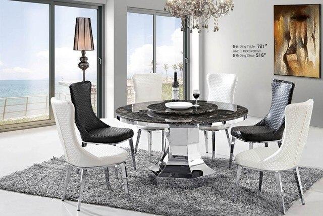 Ordinaire Meubles De Maison Salle à Manger Chaises Haut Dossier Confortable Chaise  Restaurant Chaises Pouf Avec Jambes