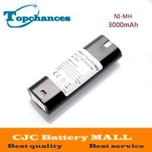 7.2 V 3000 mAh NI-MH Batterie D'outils Électriques Pour MAKITA 7033 7002 7000 632003-2 191679-9 192532-2 Perceuse sans fil outil Batterie