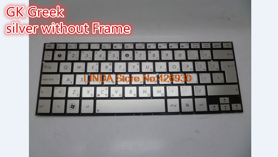Laptop Keyboard For ASUS UX31 UX31A UX31E UX31L UX31LA silver MP-11B16D06698 0KNB0-3100GE00 0KN0-LY1GE02 MP-11B13A06698 laptop keyboard for pegatron japanese jp mp 13a80j065827 0kn0 cn6jp12
