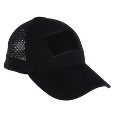 Breathable Mesh Camouflage Baseball Cap Army Tactical Grid Bionic Sun UV Hats(China)
