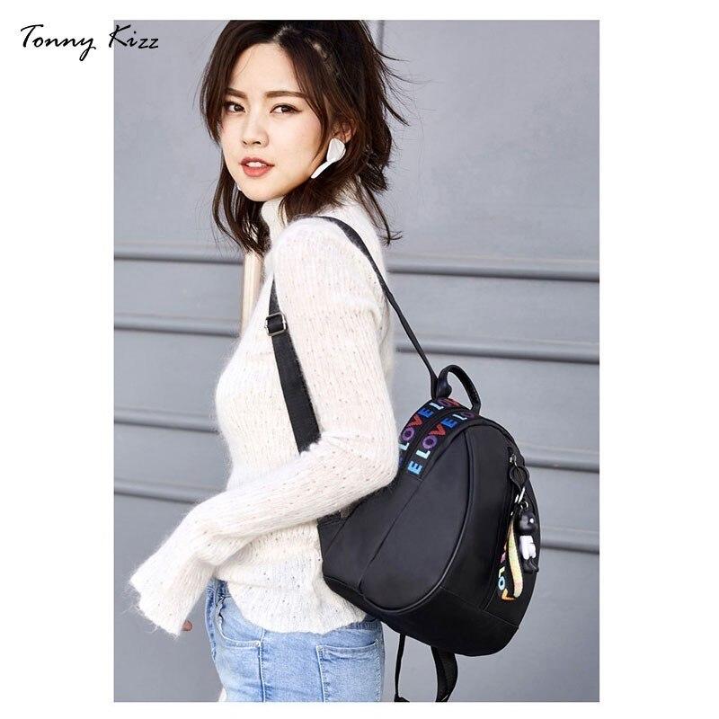 Tonny Kizz Oxford Backpack Women Casual Bagpack Travel Mini Backpack Rucksack Mochila Feminina School Bags For Teenage Girls