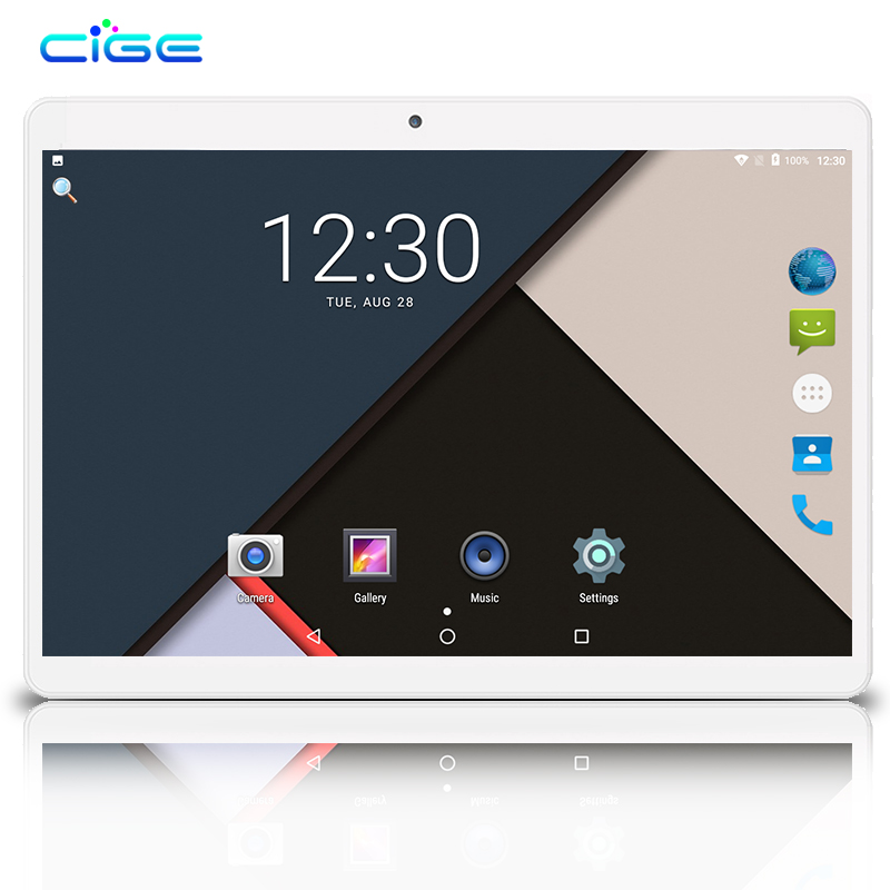CIGE Free Shipping 10 inch Tablet PC 3G 4G LTE Octa Core Android 7.0 OS 4GB RAM Dual Sim cards 5.0MP 2.5D Tempered GlassCIGE Free Shipping 10 inch Tablet PC 3G 4G LTE Octa Core Android 7.0 OS 4GB RAM Dual Sim cards 5.0MP 2.5D Tempered Glass