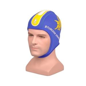 Неопрен 3 мм утолщенная зимняя шапочка для дайвинга, плавания, плавания, защиты ушей, шапки для мужчин и женщин