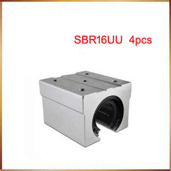 sbr16 free shipping SBR16 SBR16UU 16mm Linear Ball Bearing Block CNC Router - DISCOUNT ITEM  18% OFF All Category