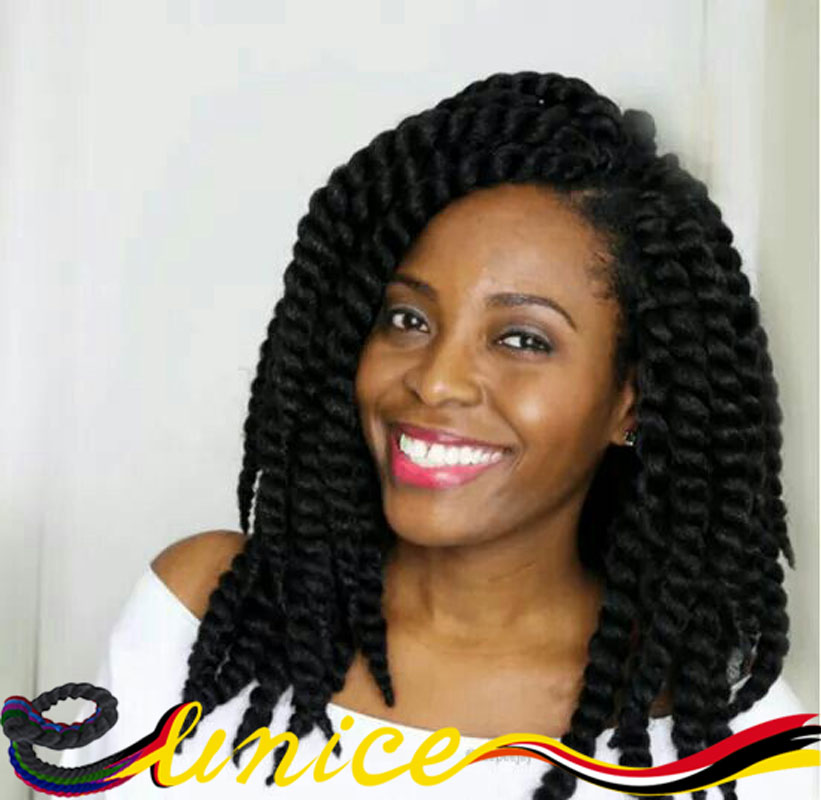 African Braid Styles Short 12 14 16 1pc Havana Mambo Twist Crochet Braids Marley Braiding Hair Extension For Kids And Women On Aliexpress Alibaba