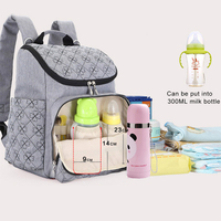 Fashion Mummy Maternity Nappy Bag Large Capacity Baby Diaper Bag Infant Changing Bags Mother Baby Care Travel Backpack Nappy Bag