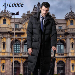 Ailloge 2016 new long down jacket men s business suits black down coat thick down jacket.jpg 250x250