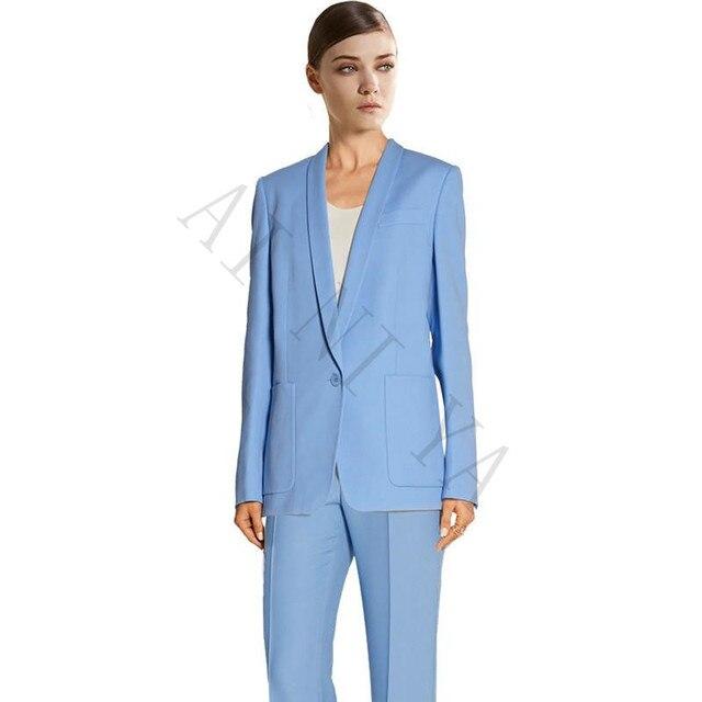 Veste bleu claire femme