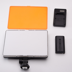Image 5 - Slim DSLR וידאו LED אור + סוללה + USB מטען עם אחסון תיק עבור Canon ניקון מצלמה DV למצלמות