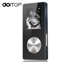 DOITOP Bluetooth MP3 MP4 Player Hifi MP4 Player Full Metal Sport Mini Walkman With Speaker Support TFCard FM Watch Game Recorder