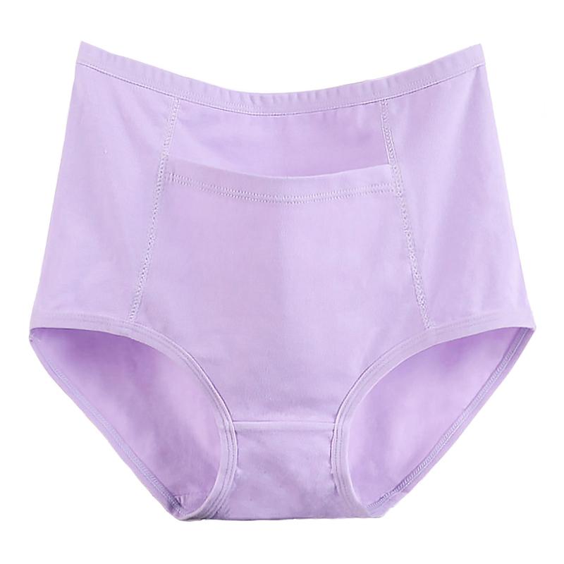 Pack de 3 culottes avec poche en coton grande taille femme.6