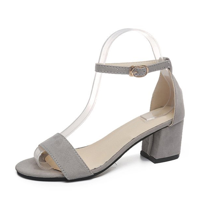 MCCKLE Summer Women Shoes Gladiator Buckle Strap Cover Heel Fashion Chunky Ladies Sandals For Woman Ankle MCCKLE Summer Women Shoes Gladiator Buckle Strap Cover Heel Fashion Chunky Ladies Sandals For Woman Ankle Strap Footwear