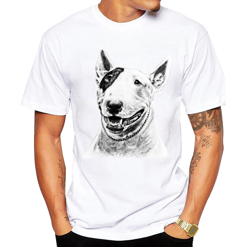 Bull Terrier Dog Pet Design Funny   T     Shirt   for Men and Women Unisex Breathable Graphic Premium   T  -  Shirt   Men's Streewear