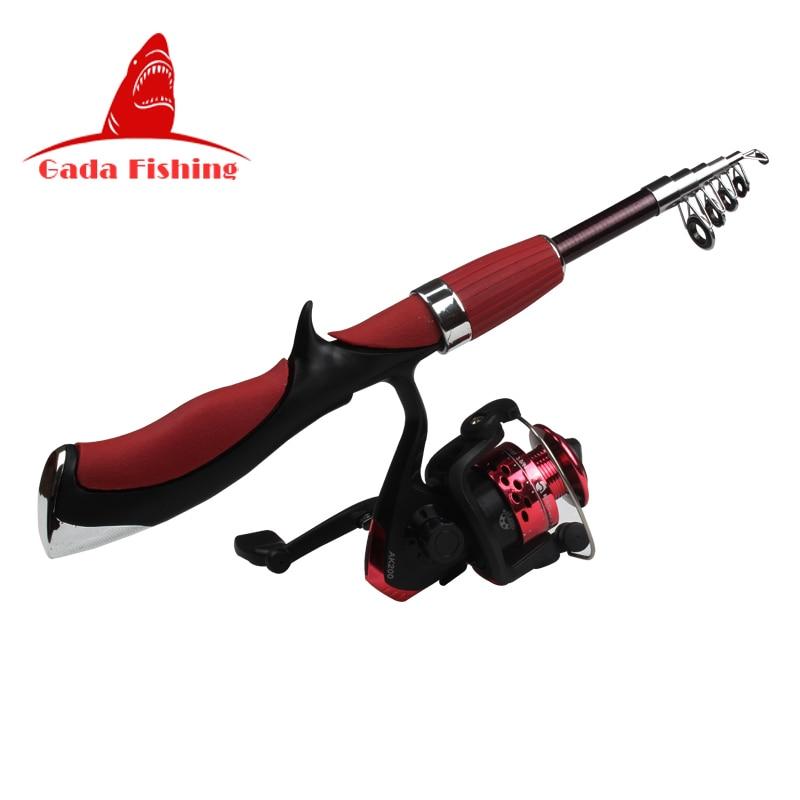 Sougayilang telescopic fishing rod spinning reel superhard for Sougayilang spinning fishing reels