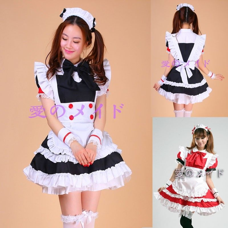 Lolita Cosplay Anime Skirt Maid Dress Halloween French Babydoll Uniform Alice in Wonderland Mermaid Fantasia Carnival Costumes