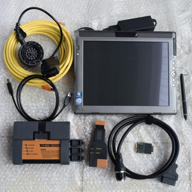 for bmw icom a2 diagnostic with LE1700 laptop ram 4g with solid state disk 480gb win7 best quality