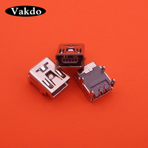 Image 2 - 10 500pcs/lot Mini USB Charging Port jack Socket Power Charger port Connector dock Replacement For PS3 Controller Repair Part