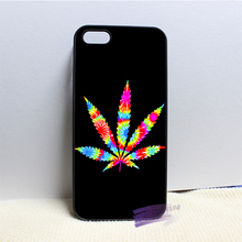 Geek Hemp fumble leaf 2 fashion cell phone case cover for iphone 4 4s 5 5s 5c SE 6 6s plus 7 plus #N4938