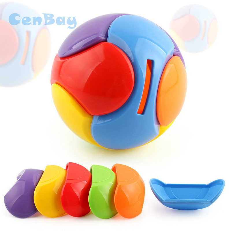 3D Puzzle Maze Ball Intelligent Magic Puzzle Game for Kids Funny Assembly Money Saving Box Coin Piggy Bank Ball Children Gifts