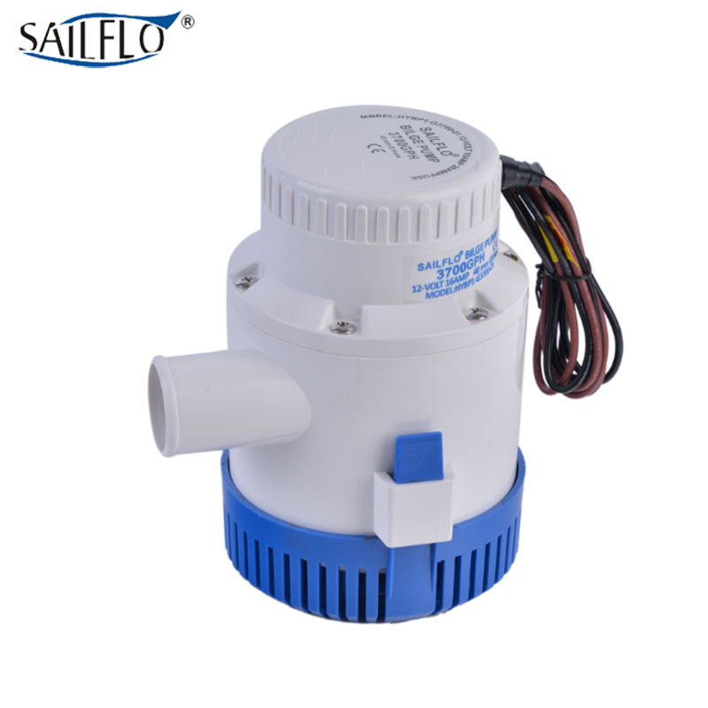 <font><b>submersible</b></font> boat bilge <font><b>pump</b></font> standard low pressure electric <font><b>12V</b></font> DC <font><b>water</b></font> <font><b>pump</b></font> 3700GPH image