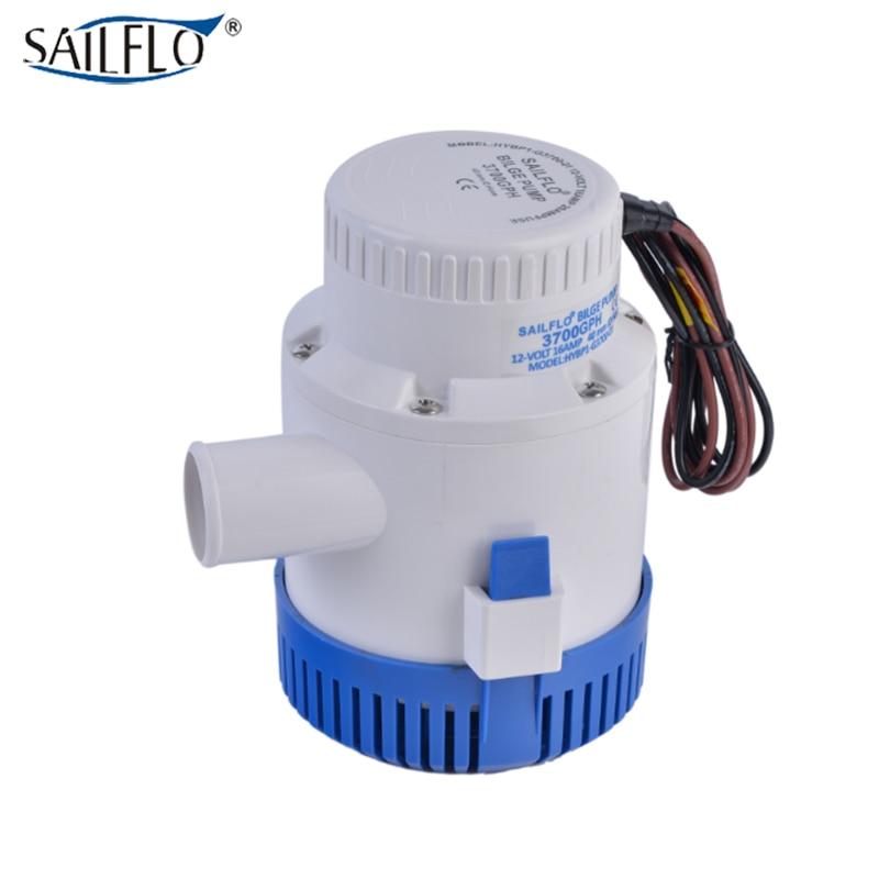 submersible boat bilge pump standard low pressure electric 12V DC water pump 3700GPH