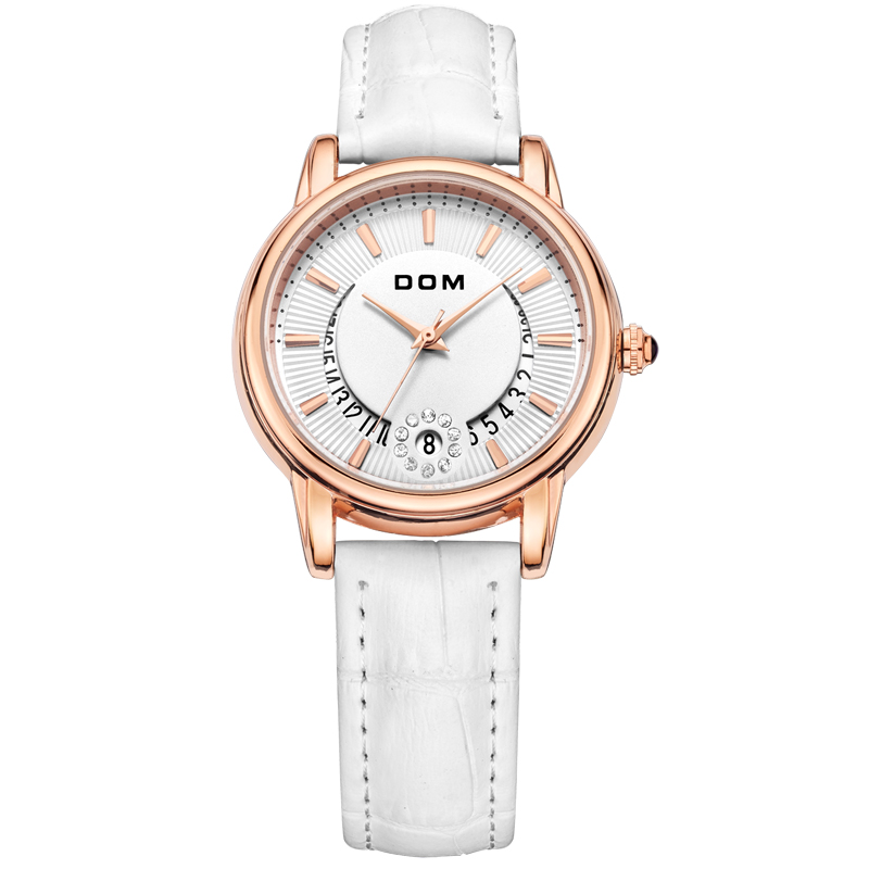New Fashion Flowers Female Wristwatch Ladies Casual Watches Luxury Brand Leather Strap watch hours Women Quartz Watch G-1698