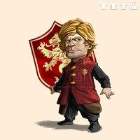 Game Of Thrones Tyrion Lannister Imp Men Unisex T Shirt O Neck 100 180g Cotton Short