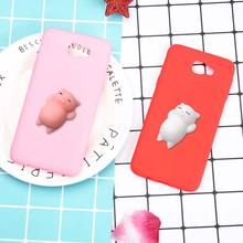 Soft TPU Case For Samsung Galaxy J2 J3 J5 J7 Prime G532F G570F G610F Back Cover 3D Cute Silicone Squishy Cat Phone Bag Cases(China)