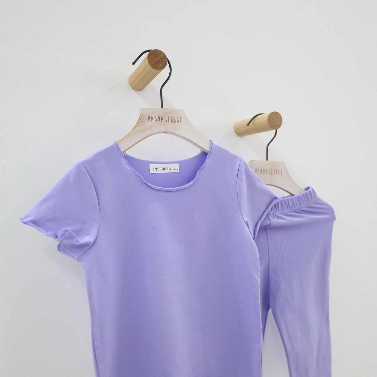 潮ブランド新製品 2019 夏新子供のパジャマセット女の子スーツ