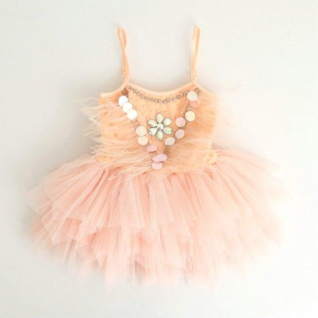 Nuevo verano niña flor Vestidos para la boda perla brillante ...