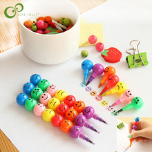 Stationery Crayons Kids Graffiti Creative 7-Colors 2pcs Cartoon Pen for S9 Haws Gifts