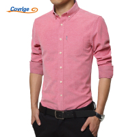 Covrlge Men S Business Dress Shirt 2018 Spring Fashion Long Sleeve Oxford Shirt Luxury Brand Male