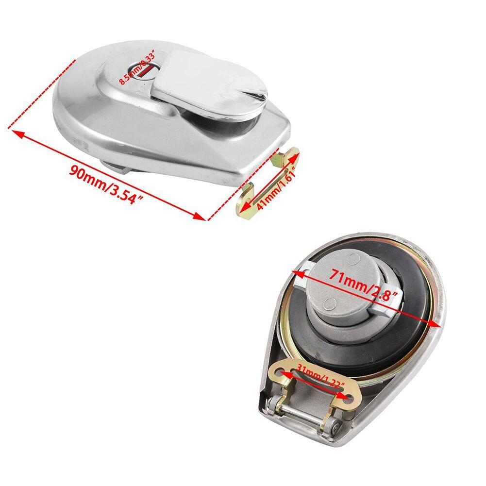 Motorbike Fuel Tank Cap Petrol Locking Cover With 2 Keys For Honda TD326