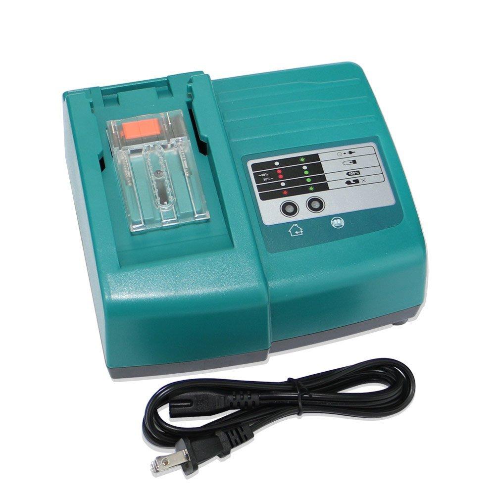 MELASTA 14.4 V 18 V Li-ion chargeur de batterie 3A courant de charge pour Makita BL1830 BL1430 DC18SC DC18RA DC14SA DC18RC outils électriques
